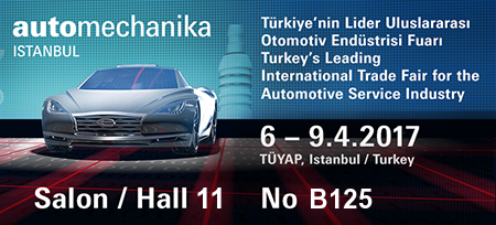 We are attending Automechanika 2017 Istanbul !